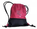 """Fight Like A Girl"" Breast Cancer Awareness Drawstring School Backpack"