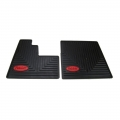 Peterbilt Motors Semi Truck OEM Ribbed Slush Style Front Floor Mats-Set