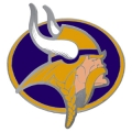 Minnesota Vikings Logo Style NFL Hitch Cover