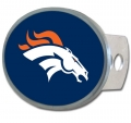 Denver Broncos NFL Oval Hitch Cover