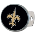 New Orleans Saints NFL Oval Hitch Cover