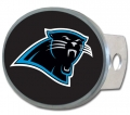 Carolina Panthers NFL Oval Hitch Cover