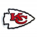 Kansas City Chiefs NFL Oversize Hitch Cover
