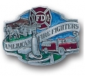 American FireFighters 3D Limited Edition Belt Buckle