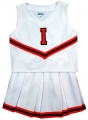 Illinois Fighting Illini NCAA College Youth Cheerleading Outfits-FREE SHIPPING