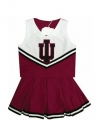 Indiana Hoosiers NCAA College Youth Cheerleading Outfits-FREE SHIPPING