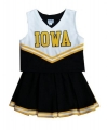 Iowa Hawkeyes NCAA College Youth Cheerleading Outfits-FREE SHIPPING