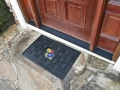 "Kansas Jayhawks 19"" x 30"" Vinyl Front Door Welcome Mat"