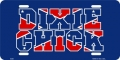 Dixie Chick Rebel License Plate