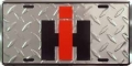 International Harvester Diamond Plate License Plate