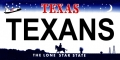 Houston Texans State Background License Plate