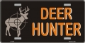 """Deer Hunter"" License Plate"