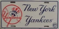 New York Yankees Top Hat License Plate