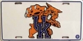 Kentucky Wildcats Aluminum License Plate