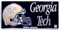 Georgia Tech Yellow Jackets Football Aluminum License Plate