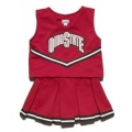 Ohio State Buckeyes NCAA College Youth Cheerleading Outfits-FREE SHIPPING