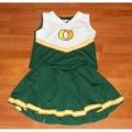 Oregon Ducks NCAA College Youth Cheerleading Outfits-FREE SHIPPING