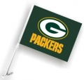 Green Bay Packers NFL Car Flag