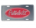 Peterbilt Motors Trucking Aluminum Novelty License Plate