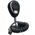 Road King 4-Pin Dynamic Noise Canceling Black CB Microphone with Flex Cord