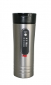 RoadPro 12 Volt Premium 15oz. Heated Stainless Steel Travel Mug