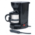 Road Pro 12-Volt Quick Cup Coffee Maker w/ 16oz Metal Cafe