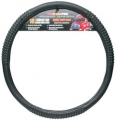 "RoadPro 18"" Comfort Grip Black Massaging Semi Truck Steering Wheel Cover"