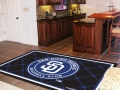 San Diego Padres MLB Area House Rugs