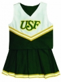 South Florida Bulls NCAA College Youth Cheerleading Outfits-FREE SHIPPING