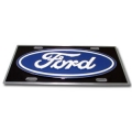 Ford Motor Company Heavy Duty Pewter 3D License Plate