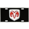 Dodge Heavy Duty Pewter 3D License Plate