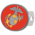 United States Marines Oval Hitch Cover