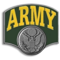 United States Army Logo Style Hitch Cover