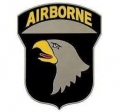 United States Army Airborne Logo Style Hitch Cover