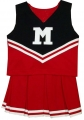 Maryland Terrapins NCAA College Youth Cheerleading Outfits-FREE SHIPPING