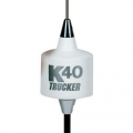 "K40 Center Load White 49"" Trucker 3500 watt CB Radio Antenna"