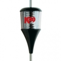 K-40 Plus Series 6000 Watt Trucker Antenna with Chrome Coil