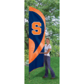 "Syracuse Orangemen NCAA Applique & Embroidered 102"" x 30"" Tall Team Flag"