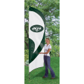 "New York Jets NFL Applique & Embroidered 102"" x 30"" Tall Team Flag"