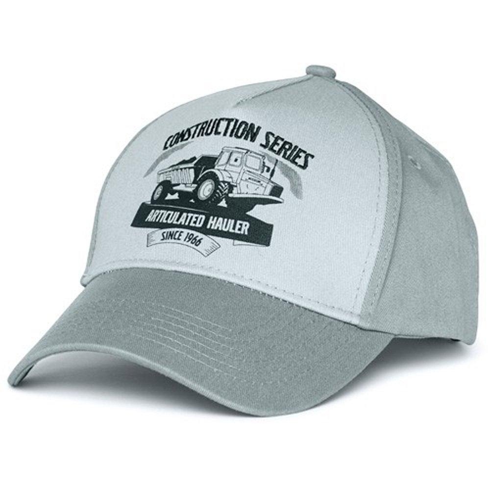 84afd516975 Volvo Construction Equipment Heritage Articulated Hauler Truck Gray Caps -  Volvo Merchandise - Volvo Truckers Merchandise - Volvo Hats - Volvo Caps
